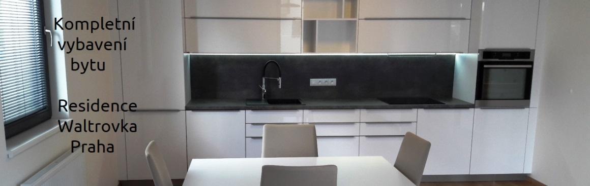 Kuchyň s nižším rozpočtem Waltrovka Praha