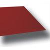 VR - sklo červené barvy